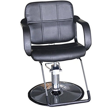 Funnylife Barber Chair Salon Stainless Steel Base Styling Beauty Equipment