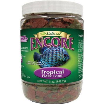 Encore Natural Tropical Fish Flake Food, 5-Ounce