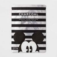 Mickey Mouse Face Mask Charcoal - 0.61 fl oz