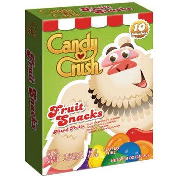 Candy Crush Mixed Fruits Fruit Snacks, 8 oz