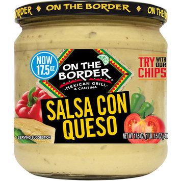 On The Border Salsa Con Queso, 17.5 oz