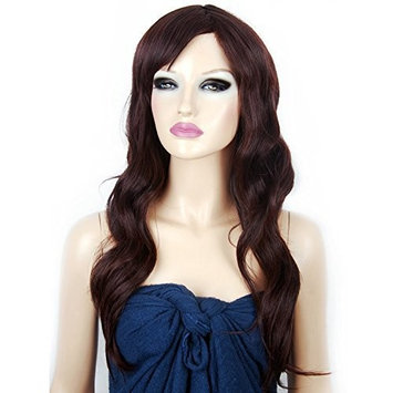 Neitsi 100% Japanese Kanekalon Fiber Synthetic Hair Wigs Sexy Stylish Sythetic Hair Wig Blonde curly long wigs for woman #Coffee