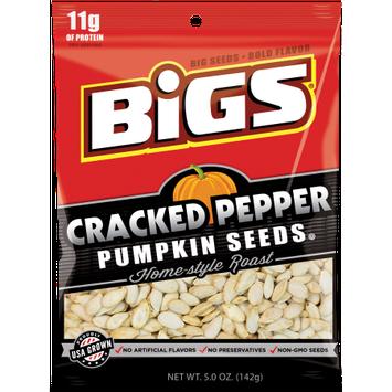 Thanasi Foods BIGS Cracked Pepper Pumpkin Seeds 5.0 oz.