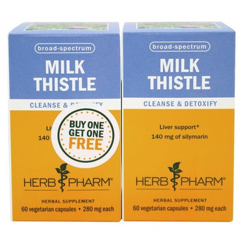 Milk Thistle Capsules Twin Pack - 60 Vegetarian Capsules