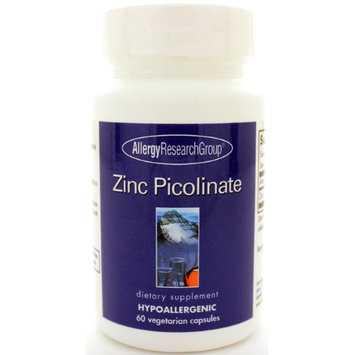 Allergy Research Group, Zinc Picolinate 60 vegetarian capsules