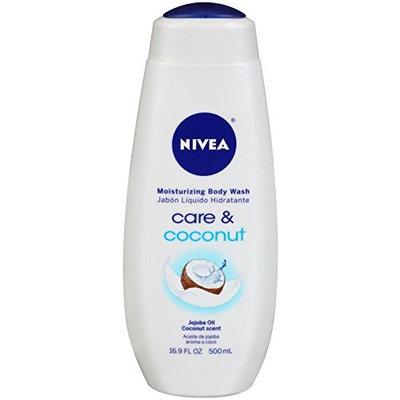 Nivea Moisturizing Body Wash - Coconut - 16.9 Oz
