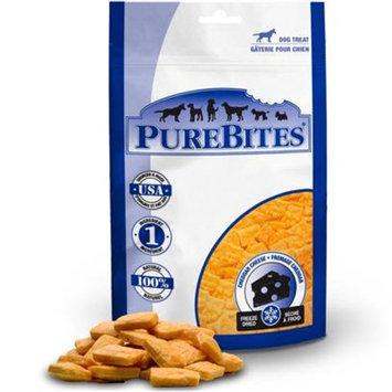 PureBites Cheddar Cheese Dog Treat [Options : 2 oz]