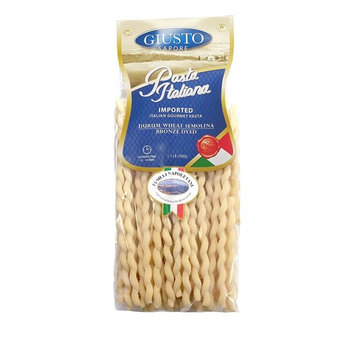 Giusto Sapore Italian Pasta - Fusilli Napoletani 500g - Premium Bronze Drawn Durum Wheat Semolina Gourmet Pasta Brand - Imported from Italy and Family Owned [Fusilli Napoletani]