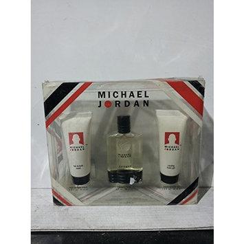 Michael Jordan Gift Set, Hair & Body Wash 1.5oz 45ml, Cologne 1oz 30ml, Cooling Body Gel 1.5oz. 45ml