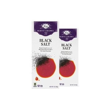 Vosges Haut-Chocolat Black Salt Caramel, Pack of 2, 3oz Bars [Black Salt Caramel]