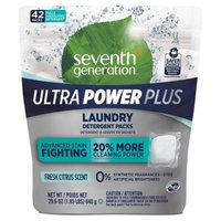Seventh Generation Fresh Citrus Ultra Power Plus™ Laundry Detergent Packs