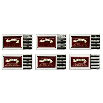 Colonel Ichabod Conk Trac II Razor Blades 10 ct. (Pack of 6) + FREE Schick Slim Twin ST for Sensitive Skin