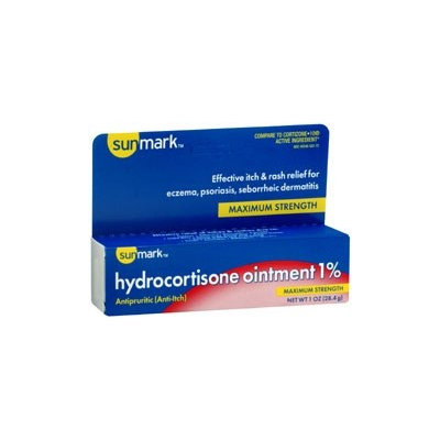 Sunmark Hydrocortisone Itch Relief Ointment