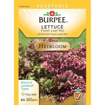 Burpee-Lettuce, Fresh Leaf Mix Seed Packet