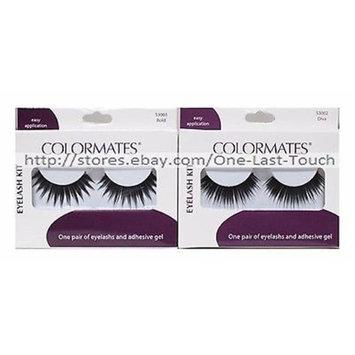 Merchandise 8648433 Colormates Eye Lash Kits Diva
