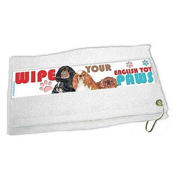 English Toy Spaniel Paw Wipe Towel