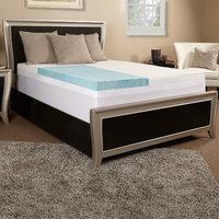 Luxury Solutions 4'' Gel Memory Foam Mattress Topper