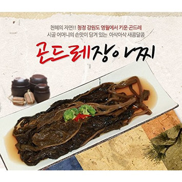 Korean Packaged Ready-to-eat Pickled Side Dish (Cirsium Setidens 곤드레, 1 Pack)