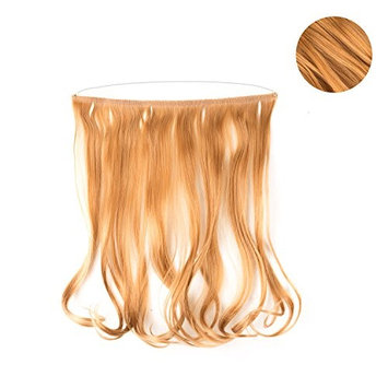 Full Extensions 18' Easy To Use Synthetic Headband Extensions (Strawberry Blonde)
