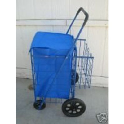 PB Swiss Shopping Cart , Folding, Storage,Jumbo extra Storage all purpose light