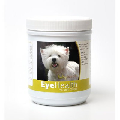 Healthy Breeds 840235145202 West Highland White Terrier Eye Health Soft Chews - 75 Count