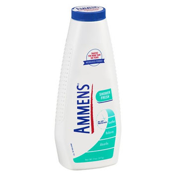Ammens Medicated Deodorant Powder Shower Fresh 11.0 oz.(pack of 12)