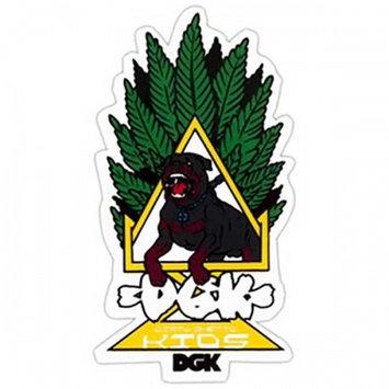 DGK Skateboard Sticker HOMAGE DOG 4.5in