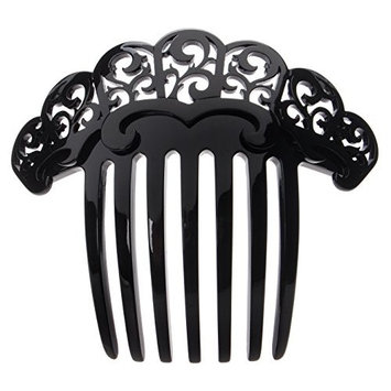 France Luxe Finery French Twist Comb - Black