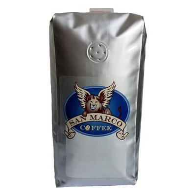 San Marco Coffee Flavored Ground Coffee, Peanut Brittle, 1 Pound