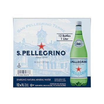 S.Pellegrino Sparkling Natural Mineral Water CVBE, 33.8 fl oz. (Pack of 36)