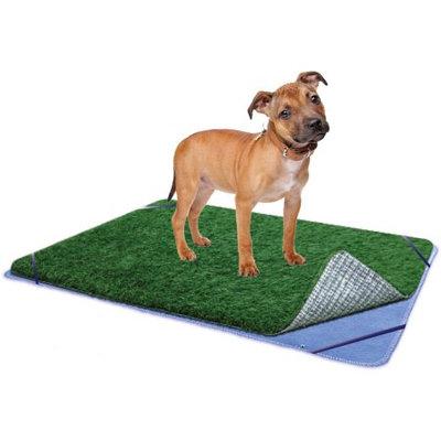 ZorbiPad Indoor Turf Dog Potty PLUS Connectable