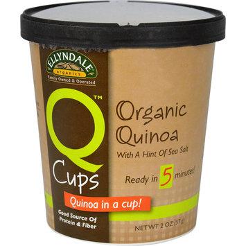 NOW Foods Ellyndale® Naturals Q Cups™ Quinoa in a Cup! Organic Quinoa with a Hint of Sea Salt -- 2 oz