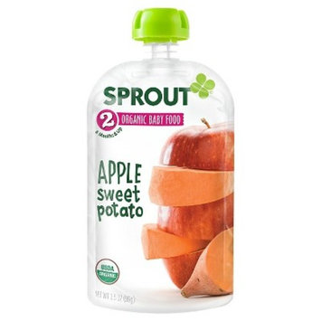 Sprout Stage 2 Apple and Sweet Potato Organic Baby Food - 3.5 Ounce Pouch