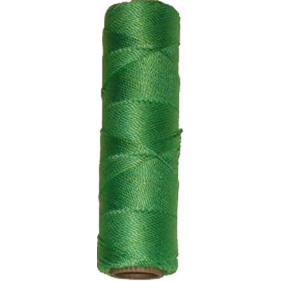 GN4-24 Wallace Cordage Green Nylon Twine 1/4 lb Size 24 Fishing Line