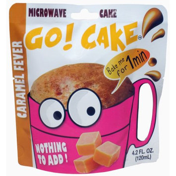 Easy Gourmand Llc Go! Cake Caramel Fever - Case of 12 pouches