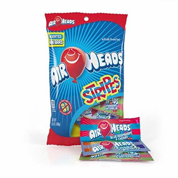 Airheads Candy Variety Bag, Individually Wrapped Assorted Striped Fruit Mini Bars, Party, Halloween, 3.8 Ounce