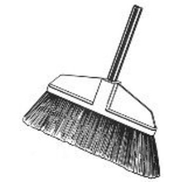 Bruske Products 5604 Fine Sweep Kitchen Broom, Green
