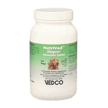 Vedco NutriVed Zinpro for Dogs (100 CHEWABLE Tablets)