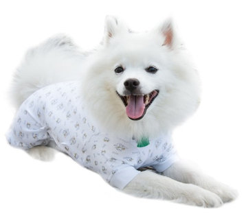 Cover Me by Tui XS Adj Fit Pullover LS Pup Prin Adjustable Fit Pullover Long Sleeve Puppy Print - Extra Small