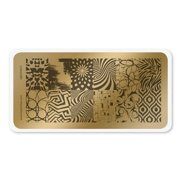 COLOR CLUB NAIL ART STAMPING PLATE-ABSTRACT