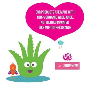 Hair Gel for Kids | Light Hold | Chemical Free | Made with Organic Aloe Vera and Vitamins | Safe on Babies, Toddlers, Men and Women | Always Paraben,...