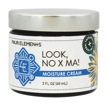 Four Elements Herbals - Moisture Cream for Eczema Look, No X Ma - 2 oz.(pack of 6)