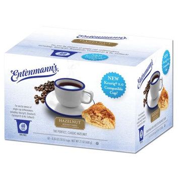 White Coffee Entenmann's Hazelnut Single Serve 60 Count