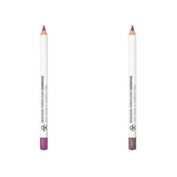 OCC Obsessive Compulsive Cosmetics Colour Pencil, 2 Pack, Sebstian Lydia, Full Size, .04 Oz