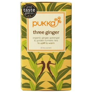 Pukka Three Ginger Tea Caffeine Free – 36 grams
