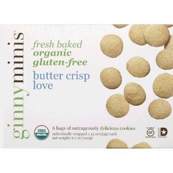Ginny Bakes - Organic Gluten Free Fresh Baked Cookies Butter Crisp Love - 6.7 oz.