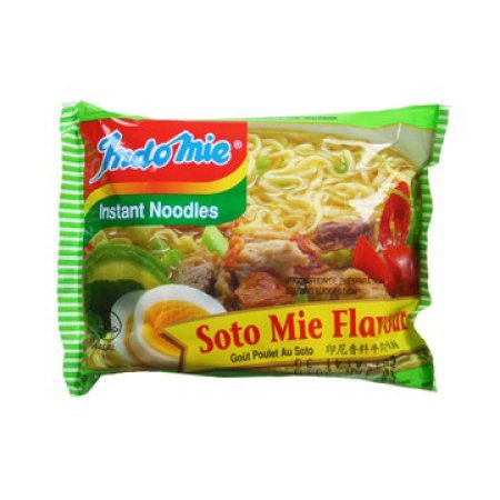 Indomie, Soto Mie Beef And Lime Flavor Noodles, 30 g (Case of 30)