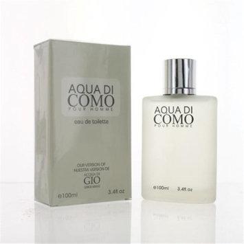 Eurolux ZZMEFAQUADICOMO34EDT Aqua Di Como By Eau De Toilette Spray New in Box for Men 3.4 oz.