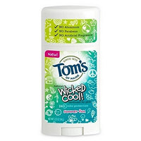 Tom's of Maine Wicked Cool! Teen Girls Natural Deodorant Summer Fun, 2.25 oz [Summer Fun]