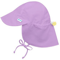 i play Solid Flap Sun Protection Hat Lavender 6-18 mo.